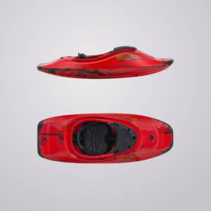 Der XG von EXO Kayaks kommt mit Overthruster und ist ein Freestyleboot für mittelschwere PaddlerInnen