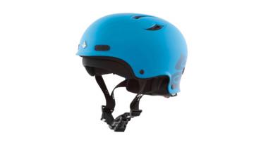 Mit dem Helm schützt du deinen Kopf vor unfreiwilligen Zweikämpfen mit Steinen unter Wasser, wenn du kentern solltest.