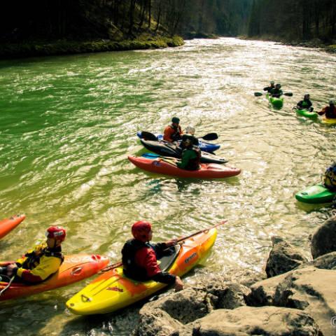 Freie Plätze beim letzten Wildwasser – Kurs 2018