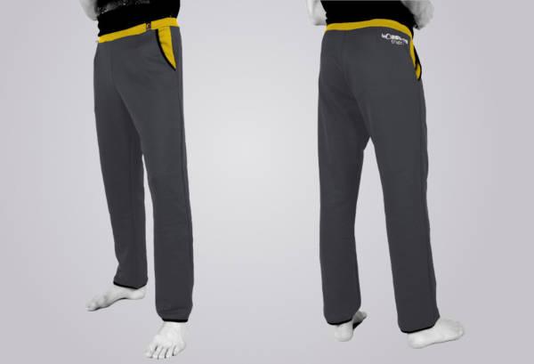 Die TOASTED THERMIC - Casual Pants in der Standard - Variante: das linke und rechte Bein und die Taschen werden gleich ausgeführt.