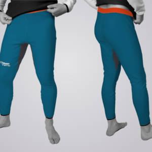 Die TOASTED THERMIC - Trousers in der Standard - Variante: das linke und rechte Bein werden gleich ausgeführt.