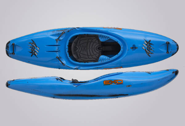 EXO Kayaks T-Rex blauschwarz