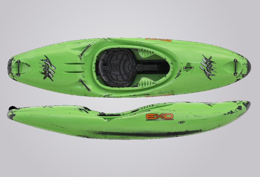 EXO Kayaks T-Rex grünschwarz