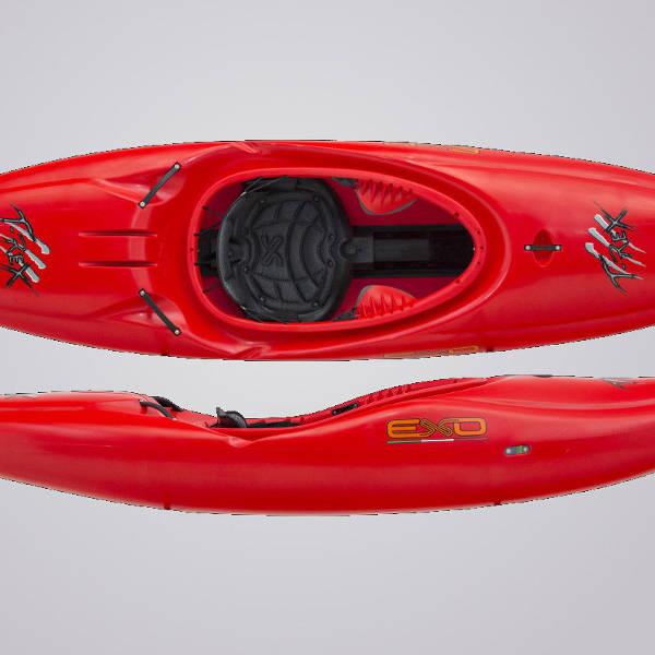 EXO Kayaks T-Rex rot