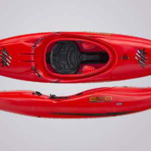 EXO Kayaks T-Rex rotschwarz