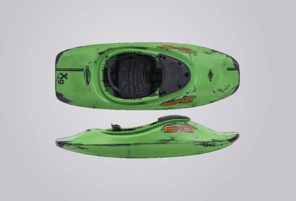 EXO Kayaks XG grünschwarz
