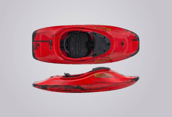 EXO Kayaks XG rotschwarz