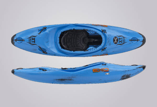 EXO Kayaks XT 260 blauschwarz