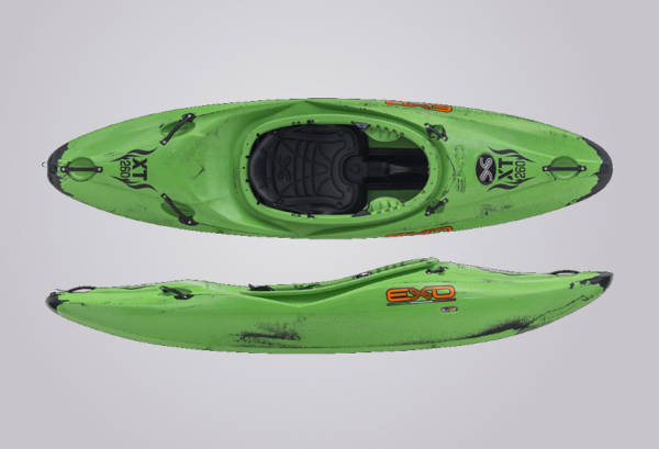 EXO Kayaks XT 260 grünschwarz