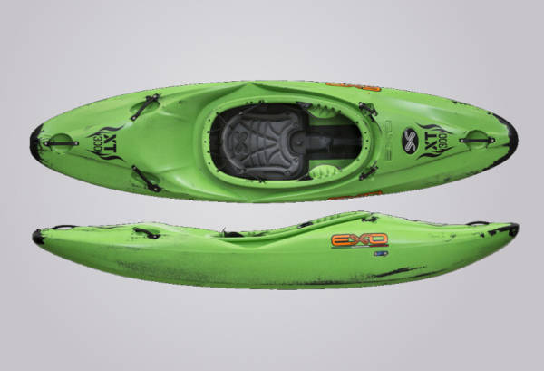 EXO Kayaks XT 300 grünschwarz