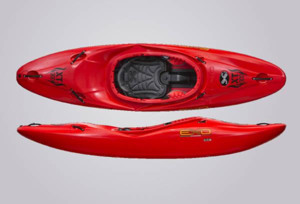 EXO Kayaks XT 300 rot