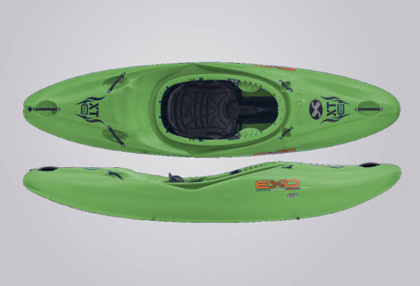 EXO Kayaks XT Creek grün