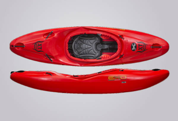 EXO Kayaks XT Creek rot