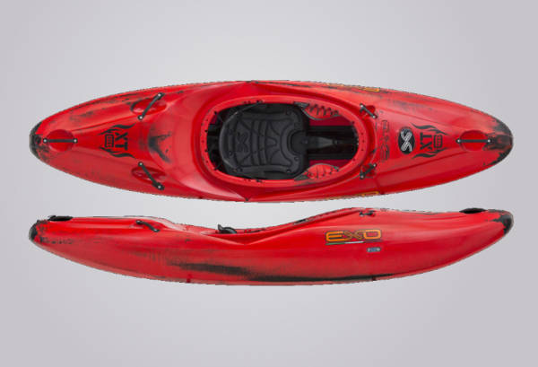 EXO Kayaks XT Creek rotschwarz