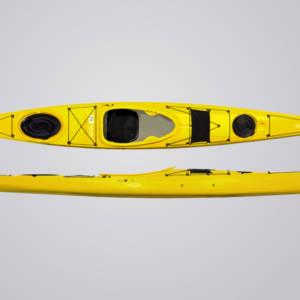 Tahe Marine FIT 158 in gelb mit Skeg