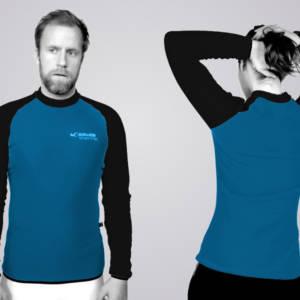 TOASTED THERMIC - Shirts in den Stoffen und Farben: dark cyan (PowerDry™) und black (PowerDry™)