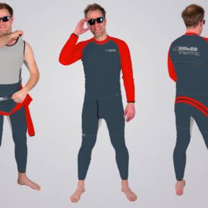 TOASTED THERMIC - OnePeaces aus bestem Fleece von Polartec® der Marken PowerStretch® und PowerDry® - ein Overall ohne Reißverschluss perfekt gegen Kälte!