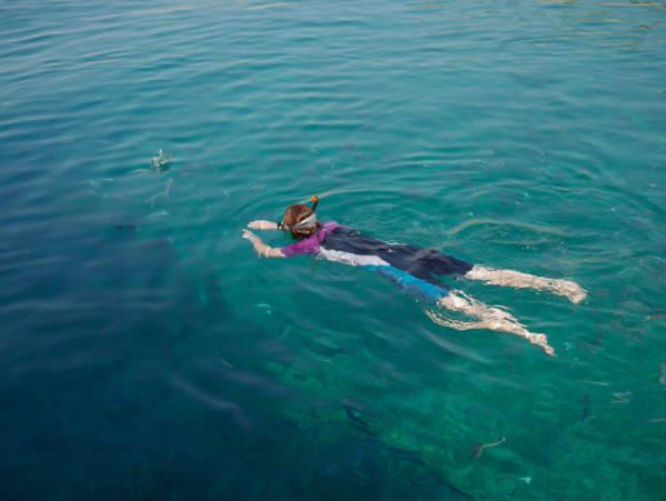 Was will man mehr? Seekajaken und Schnorcheln mit meeresbiologischer Begleitung auf Dugi Otok in Kroatien!