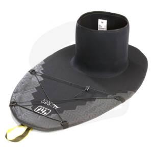 Die °hf Ocean Skirt ist eine speziell auf die Anforderungen beim Seekajakfahren abgestimmte Neopren - Spritzdecke.